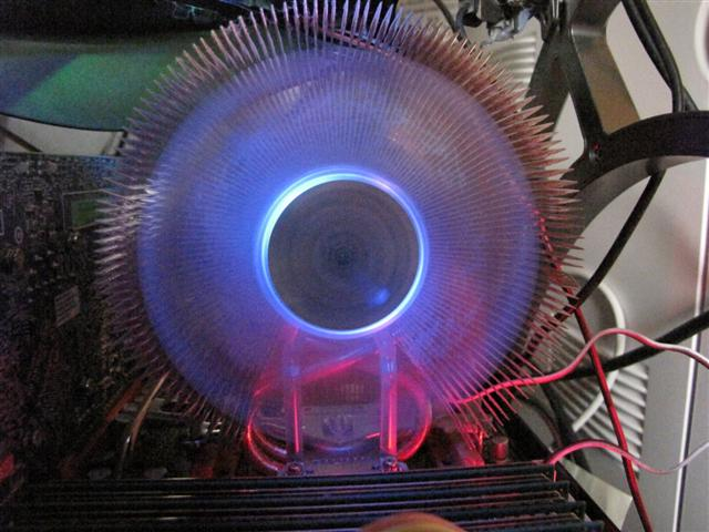 A Zalman CNPS9700. Great for overclocking.