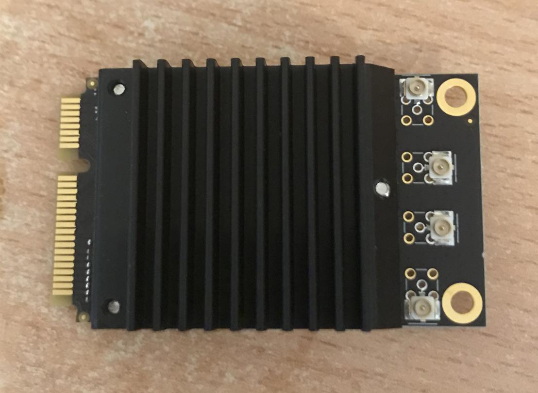 The WLE1216v5-20 WiFi card